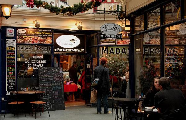 cardiff arcade cafe