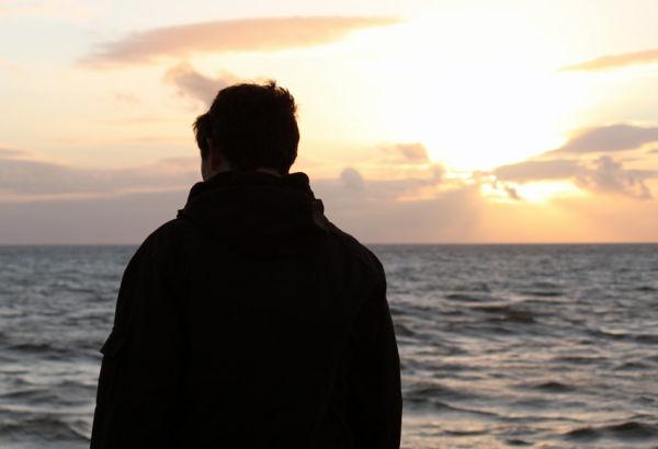 sea sunset silhouette