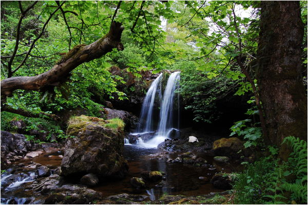 Waterfall, Campsie Fells