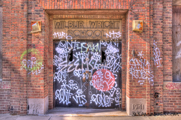 detroit wilbur wright hdr urban  313 graffiti