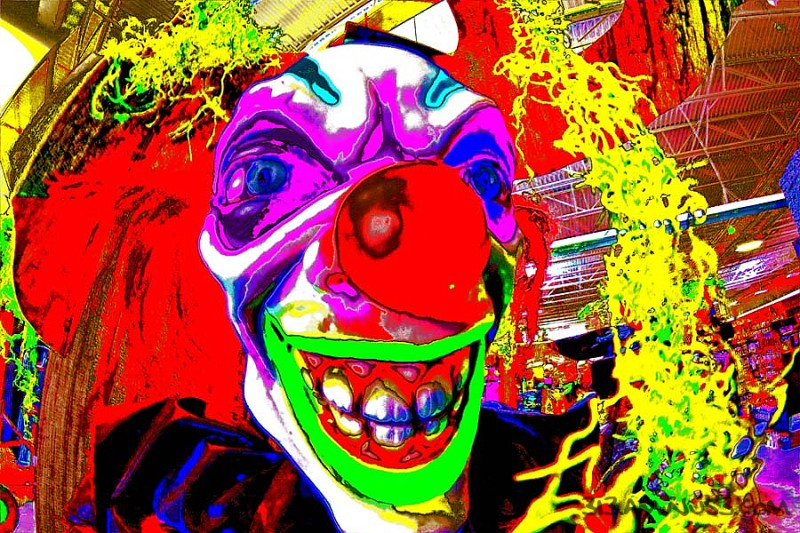 Just Clownin' Around (Happy Halloween)
