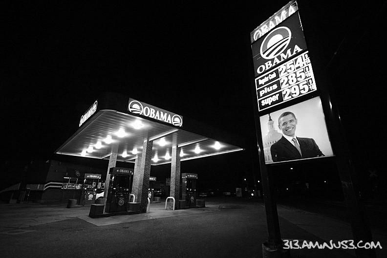Obama Gas