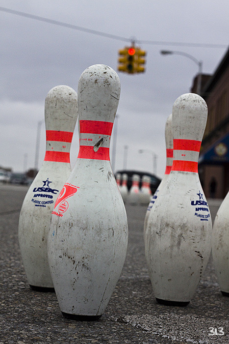 Street Bowling