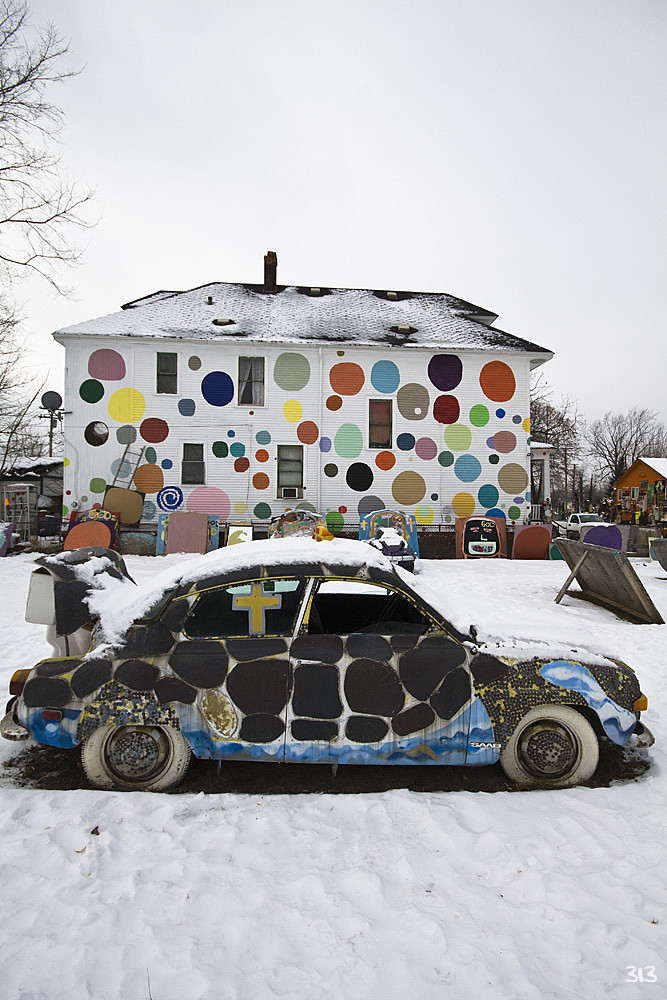 Polka Dot House