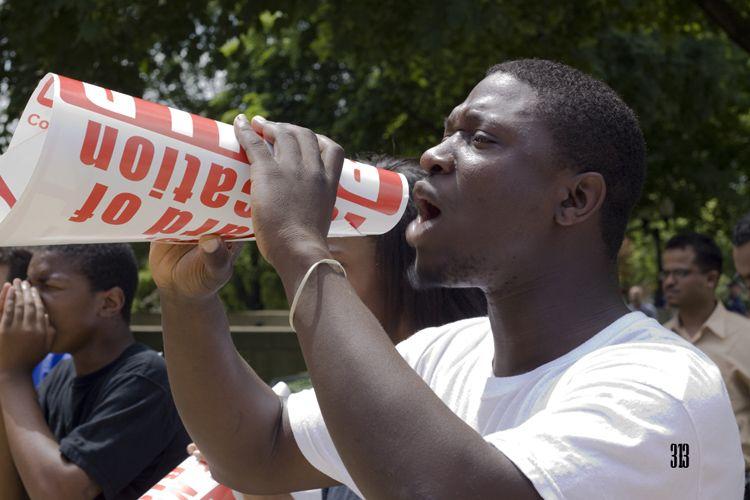 counter protester