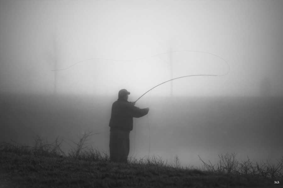 Fly Fishing at Dawn