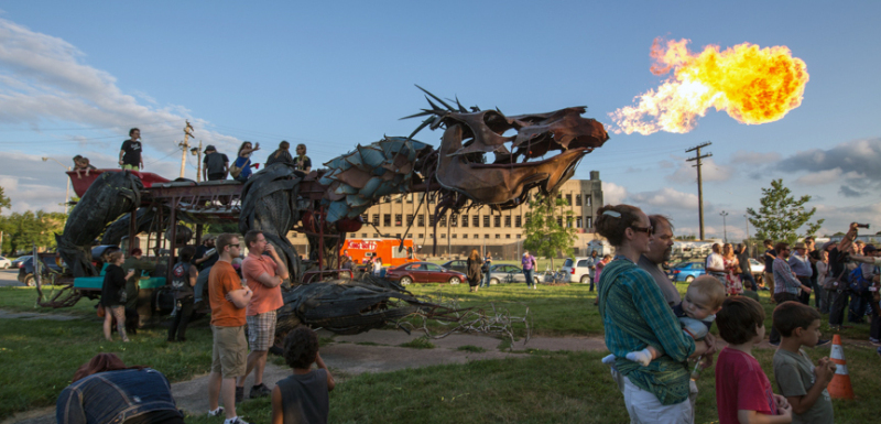 Crash Detroit; Dragons