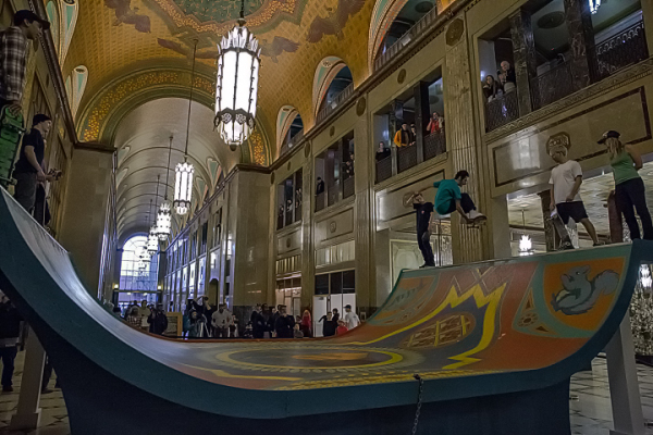Fisher Building Half Pipe