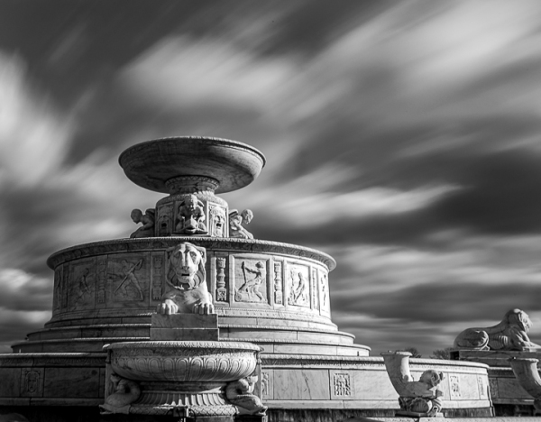 Scott Fountain Belle Isle