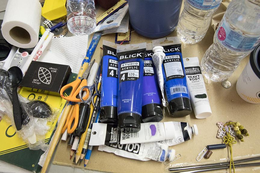 Blue Notes; Inside the Artist's Studio
