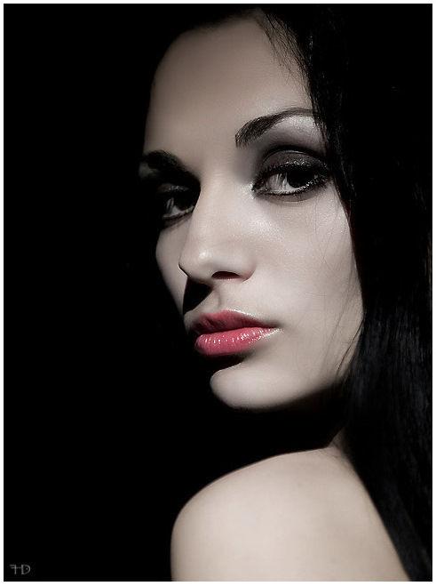 otro portrait de una modelo que gusto mucho