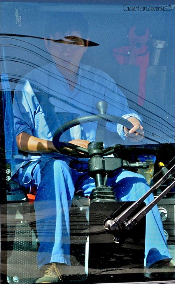 La conduite en bleu
