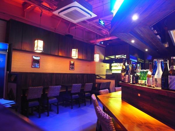 A Japanese Restaurant in Shanghai