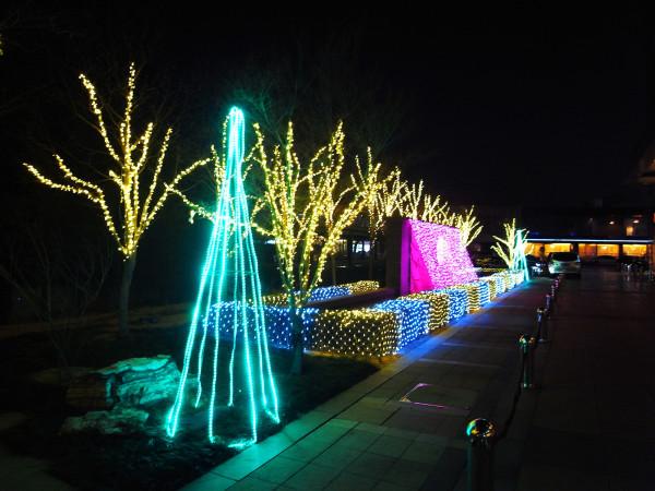 Christmas is coming! Neon lights @ Beijing, China