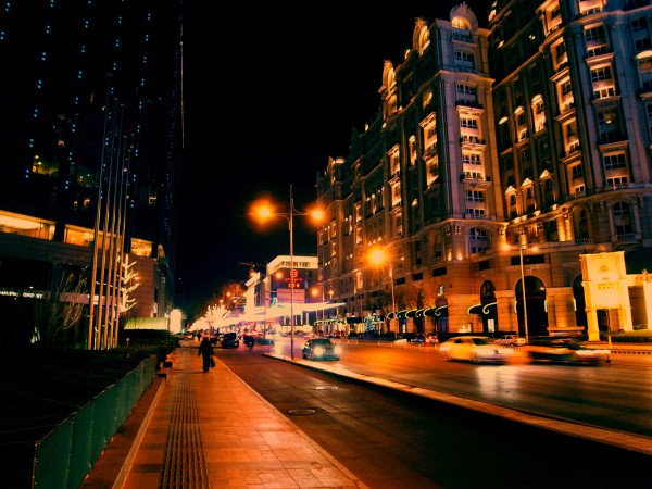 Jinbao Street in the night @ Beijing, China