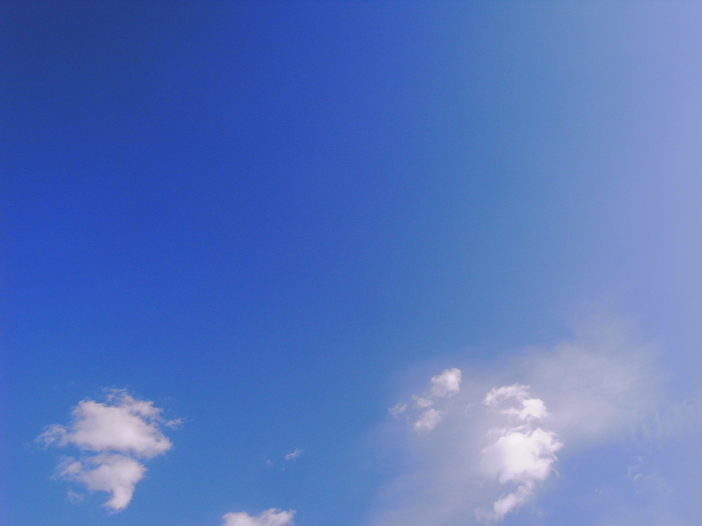 Blue sky and white cloud @ Beijing, China