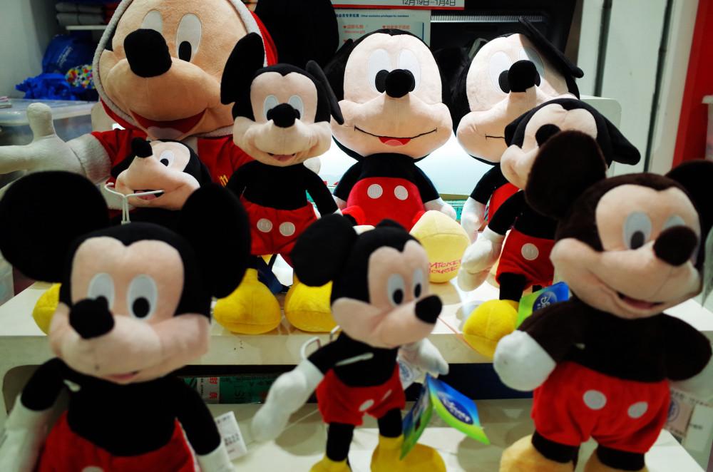 Mickey Mouses @ Hualian, Beijing