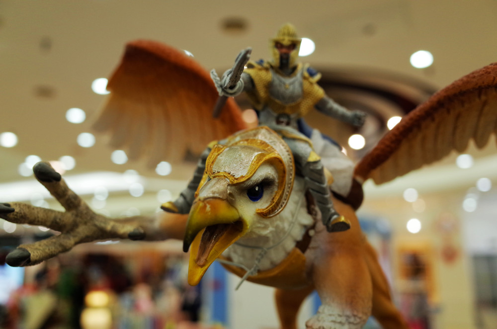 Griffin @ Yansha Outlets, Beijing, China