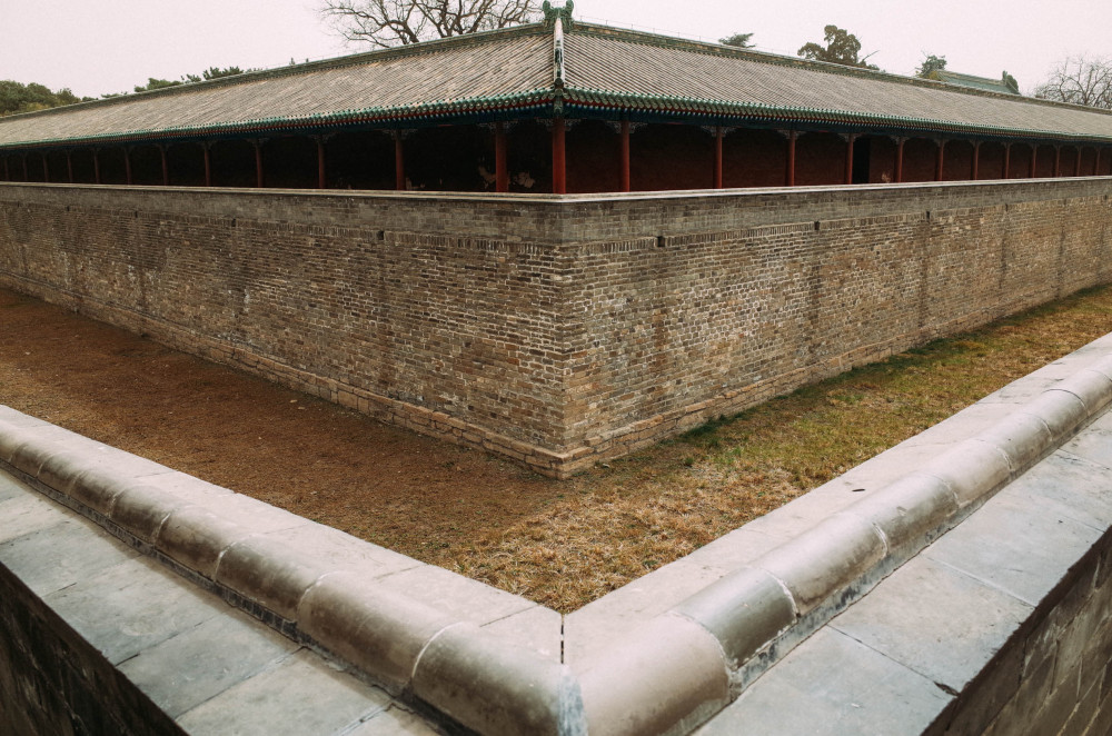 Ancient walls @ Temple of Heaven, Beijing