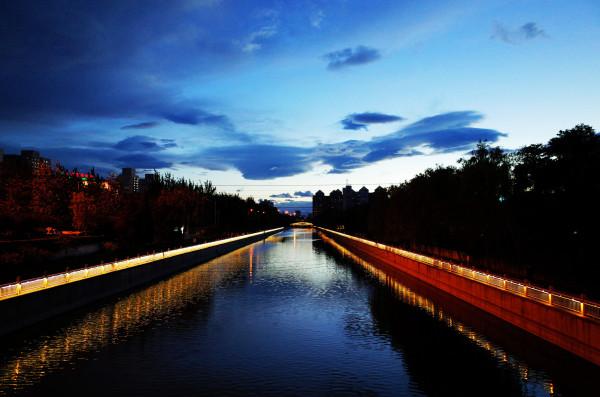 Beautiful sky in Beijing