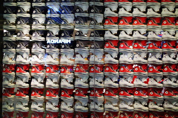 Shoes Wall @ Beijing Sanlitun Viliage