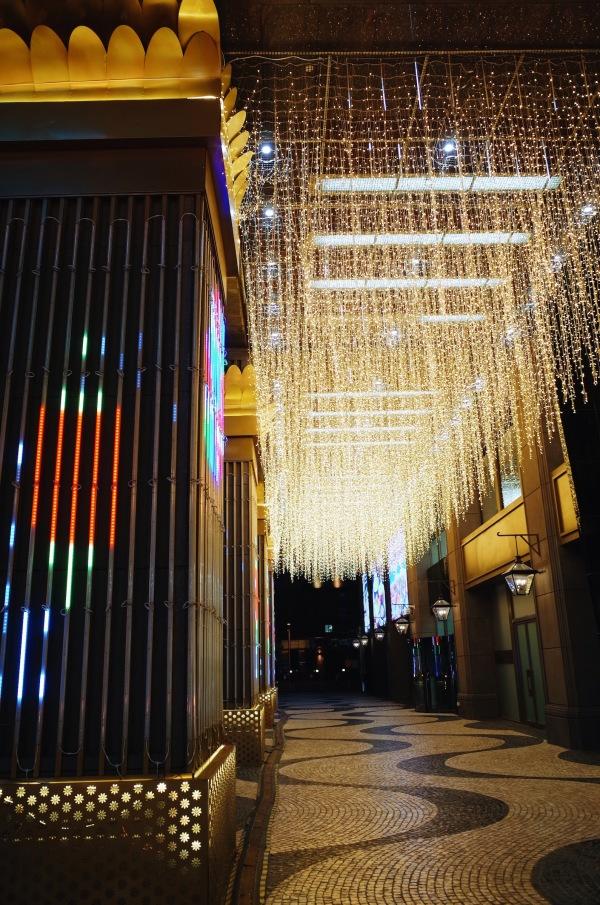Macau Center in the night