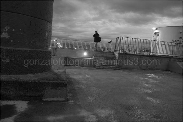 Fotógrafo al alba