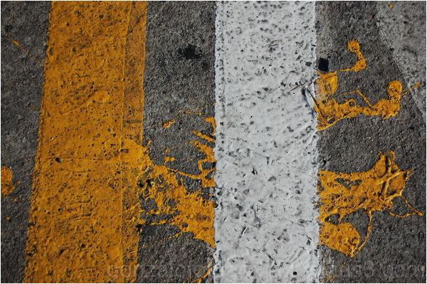 Yellow invasive line