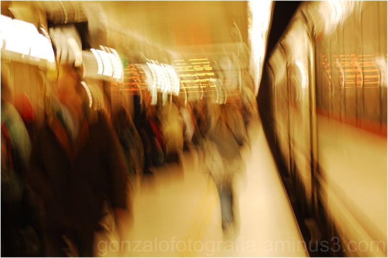 Metro: Passeig de Graçia. Barcelona.