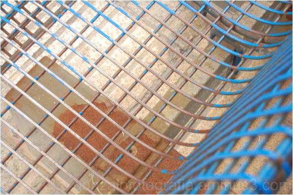 Bluish jail.