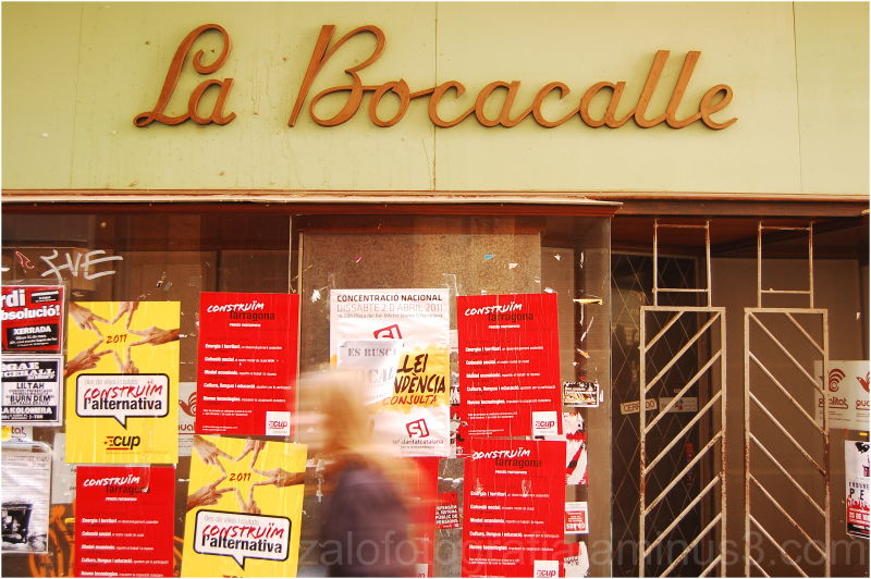 """La bocacalle"". Tarragona."