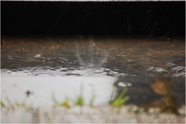 Rainy day in Luanco (Asturias).