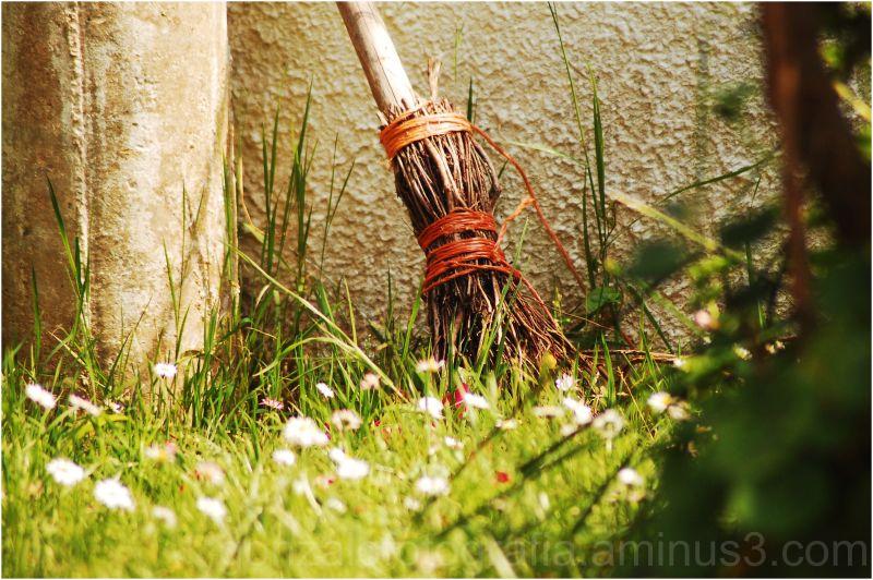 The last flying broom.