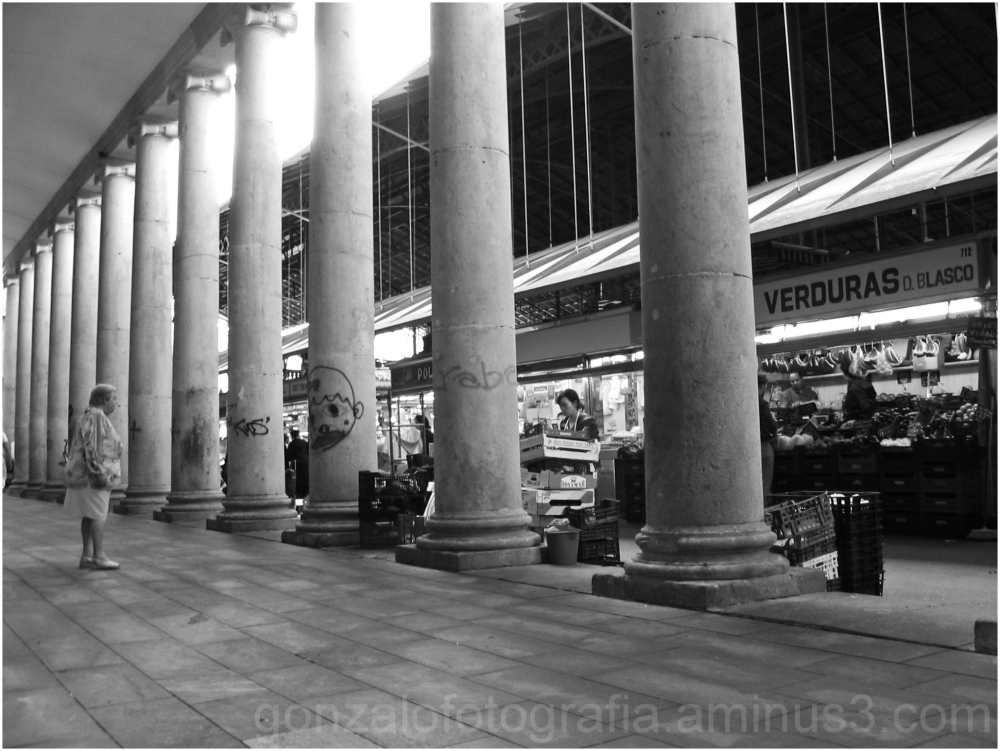 The columns and the fragility.
