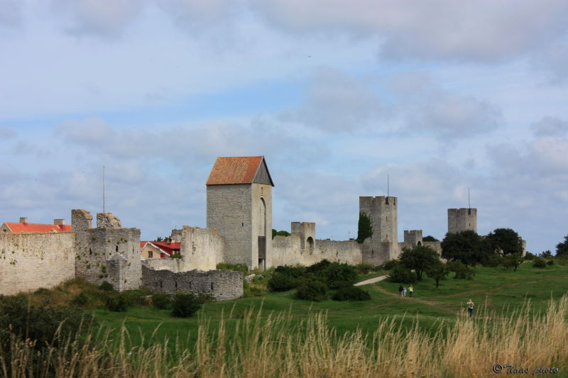 City wall of Visby