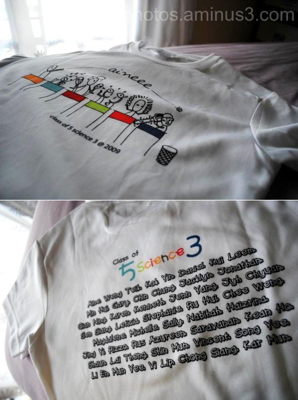 Class T-shirt~ =)