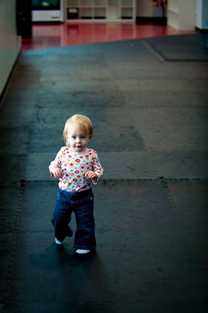baby walking.
