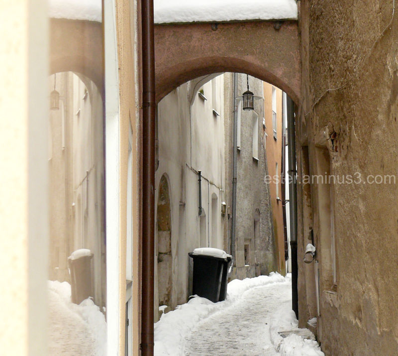 winter town I