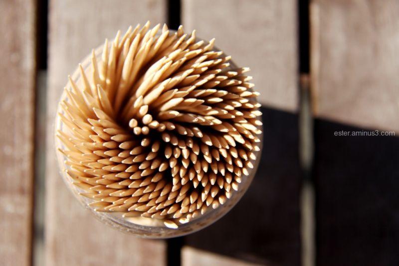 toothpicks in the sun