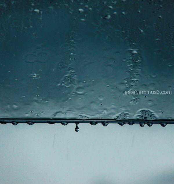 no more raindrops, please!