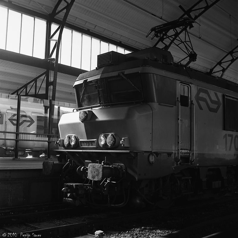 Dutch Railways Locomotive