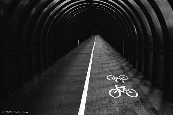 Footbridge near SECC in Glasgow
