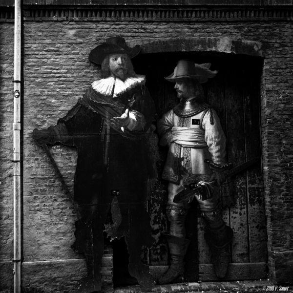 Rembrandt Down An Alley