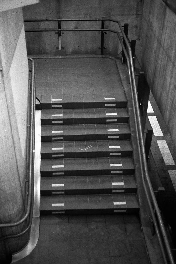 Stairwell at Amsterdam Sloterdijk train station