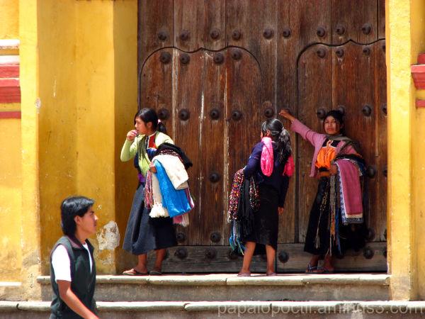 Detalle, en San Cristobal de las Casas