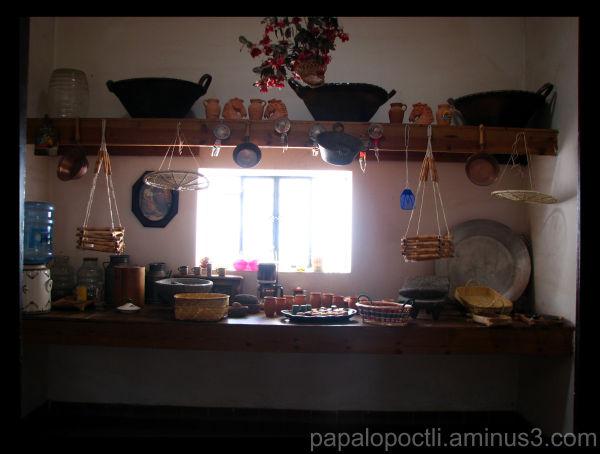 Cocina antugua, San Luis Potosí