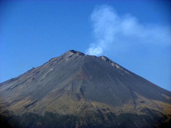 Fumarola del Popocatépetl