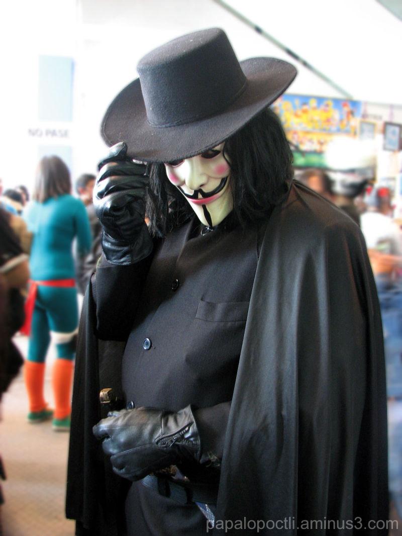 """V di Vendetta - Cosplay """"La Mole"""" 2008"""