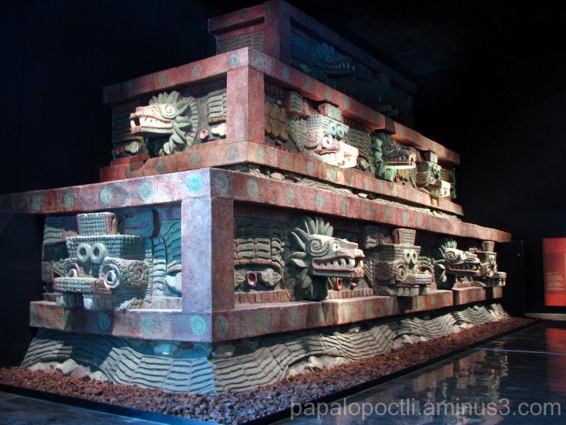 Represenación del Palacio de Quetzalcóatl