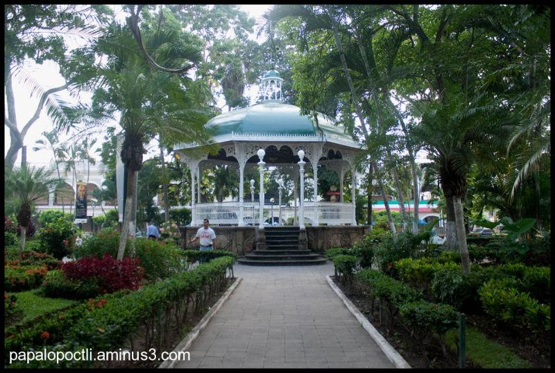 Kiosco en la Ciudad de Colima